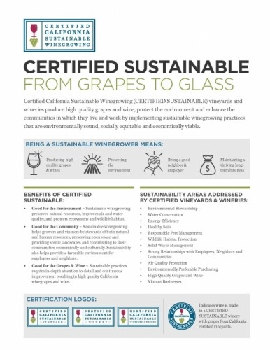 California Sustainable Winegrowing Alliance | About CCSW-Certified